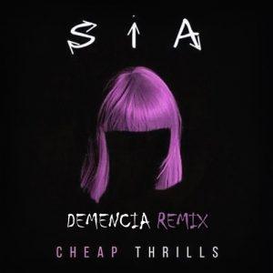 دانلود آهنگ Cheap Thrills از Sia